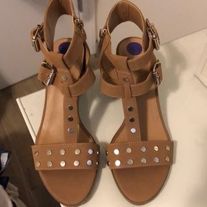 Franco Sarto zip up heels